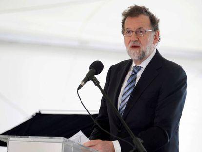 Mariano Rajoy, el sábado en Tenerife.