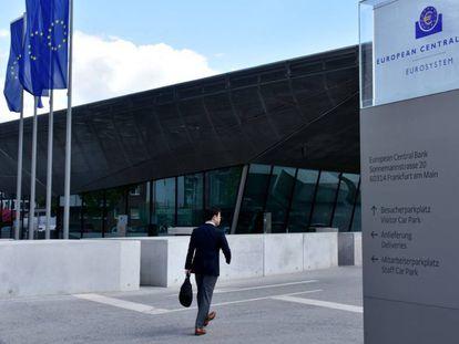 Sede central del BCE, en Fráncfort, Alemania.