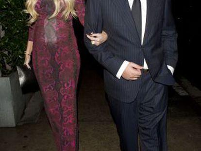 James Sunt y Petra Ecclestone.