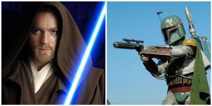 Ewan McGregor como Obi Wan Kenobi y Boba Fett.