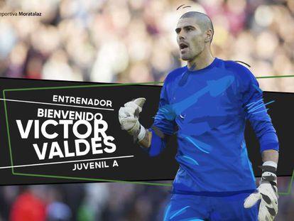 Anuncio del fichaje de Valdés en la web de la ED Moratalaz
