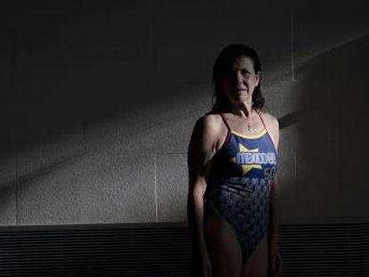 Disputó la final de los 200 metros espalda (fue séptima) y fue una de las dos únicas mujeres, junto a Pilar Von Carstenn, entre los 128 españoles que compitieron