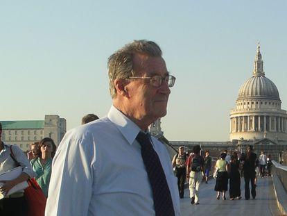 David Castillejo fotografiado en Londres.