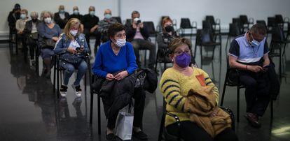La Farga de L'Hospitalet has become a mass vaccination point.