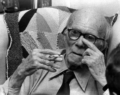 Gerald Brenan, en una imagen de 1984.