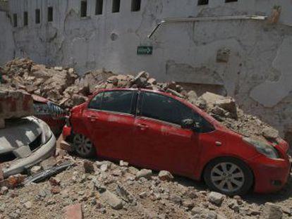 Usuarios de redes sociales graban y comparten el temblor que ha sacudido la capital y el sur del país.