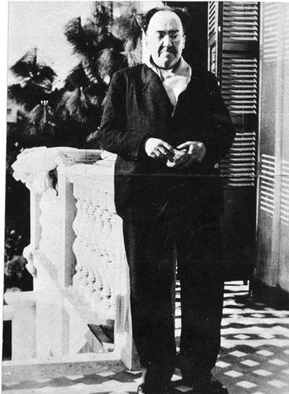 Última foto de Antonio Machado vivo, en el exilio francés.
