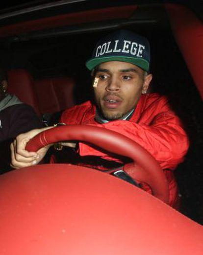 Chris Brown, el pasado 17 de enero en Los Ángeles.