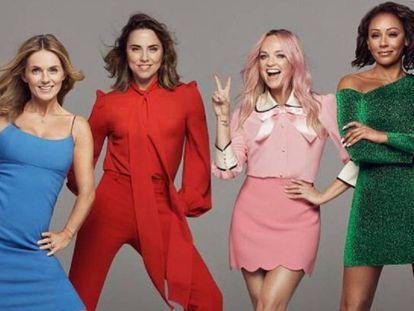 La foto con la que las Spice Girls han anunciado su regreso.