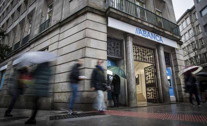 Sede Central de Abanca en Santiago de Compostela