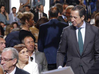 El expresidente de la Generalitat valenciana Eduardo Zaplana, en octubre de 2017.