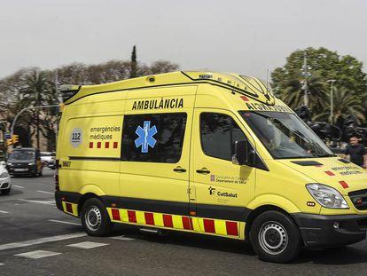 Una ambulancia del Sistema de Emergencias Médicas (SEM) en una imagen de archivo.
