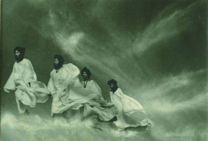 'Siroco en el Sahara, 1965', de Ortiz Echagüe.