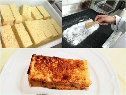 Isabel Maestre prefiere caramelizar las torrijas en vez de freírlas.