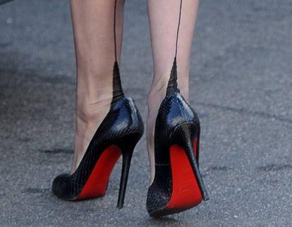 Unos zapatos Louboutin.