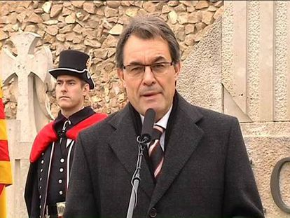 """Mas responde al Rey que quiere """"sumar"""", pero que su """"paraguas"""" debe ser la UE"""