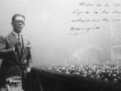 El escritor, periodista y exministro de la Gobernación Julián Zugazagoitia, en una imagen de los años treinta.