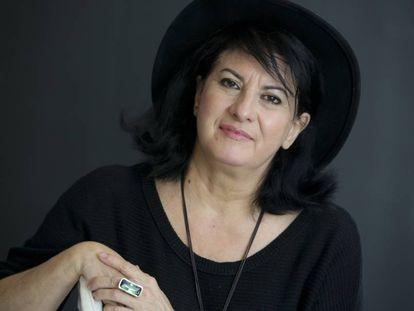 La poetisa Aurora Luque, en febrero de 2015.