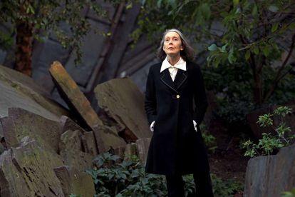 La escritora canadiense Anne Carson