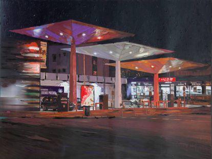 La gasolinera de Mateo Inurria vista por el artista Carlos González, la Fundación Norman Foster y el fotógrafo José Manuel Ballester.