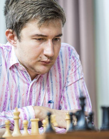 Serguéi Kariakin encabeza con gran ventaja el torneo relámpago