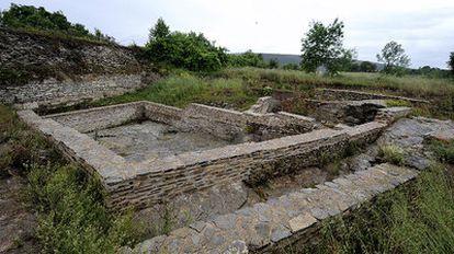 Una imagen de la muralla sur del yacimiento de Iruña-Veleia, donde se realizará la primera intervención.