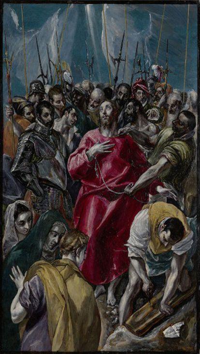 El expolio de Cristo, de El Greco.