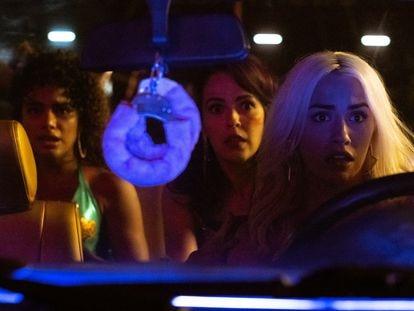 Yany Prado, Verónica Sánchez y Lali Espósito, en 'Sky Rojo'.