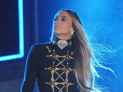 Jennifer Lopez, a finales de junio en un concierto en Nueva York.