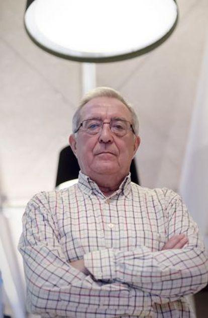 El doctor José Ramón Valdizán, esta semana en Zaragoza.