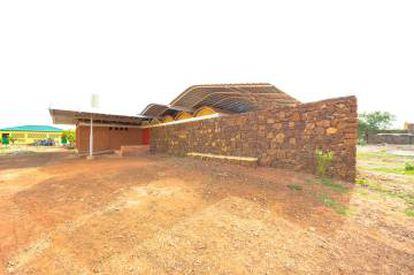 Casa para niños huérfanos con necesidades específicas de Home Kisito en Ouagadougou (Burkina Faso) del arquitecto Albert Faus.