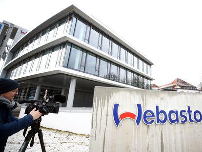 Imagen de la sede de Webasto en Stockdorf, cerca de Múnich, donde se detectó un foco de coronavirus en enero.