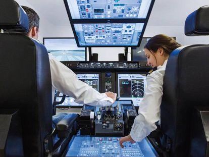 La empresa CAE fabrica el 70% de los simuladores de vuelo en el mundo.