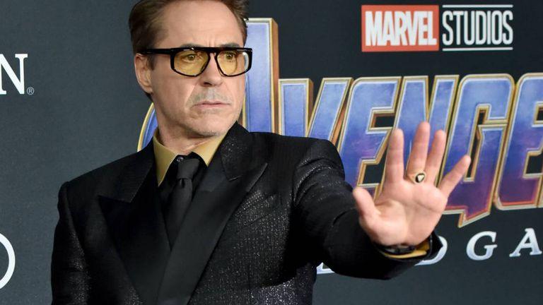 Robert Downey en el estreno de 'Los Vengadores Engame', en Los Ángeles, en 2019.