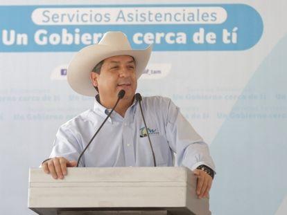 El gobernador de Tamaulipas, Francisco Cabeza de Vaca, en un evento el 26 de marzo.