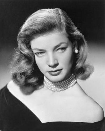 Lauren Bacall, en 1948.