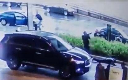 Las cámaras de seguridad de Plaza Artz registraron los disparos ocurridos el 24 de julio de 2019 en el centro comercial de la Ciudad de México.