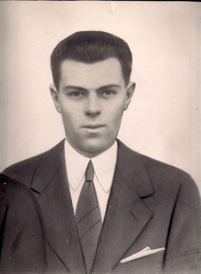 Retrato de Eloy Campillo, alcalde de Sotres (Asturias), asesinado en 1945