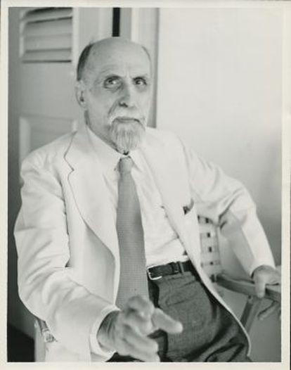 Juan Ramón Jiménez, en 1951.