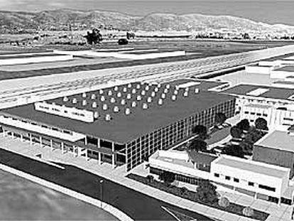 Imagen de la maqueta del proyecto para el Parque Joyero de Córdoba.