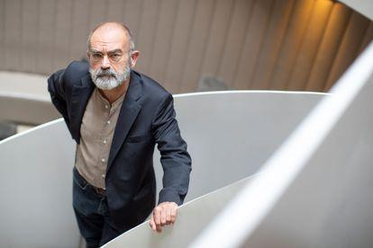 El escritor soriano José Ángel González Sainz.
