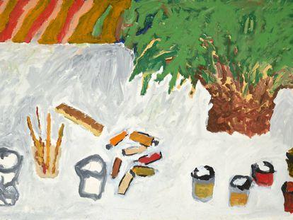 'Mesa del pintor', obra de Alberto Corazón.