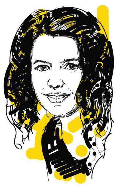 Lola Pons, dibujada por Setanta.