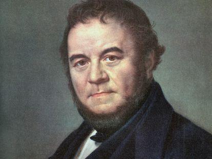 Marie-Henri Beyle, más conocido como Stendhal, autor de 'La cartuja de Parma' y 'Rojo y negro'.