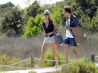 Kate Moss y Jamie Hince, en Formentera.