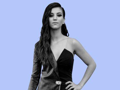 La actriz Claudia Salas, que da vida a Rebeka en 'Élite'.