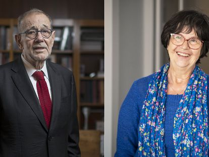 Javier Solana y Agustina Jané, donantes de riñón.