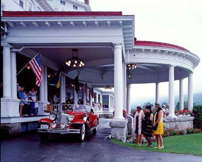 El Festival Great Gatsby, en White Mountains (New Hampshire), en su edición de 1980.