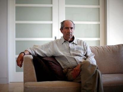 El autor Philip Roth en Nueva York el 15 de septiembre de 2010.