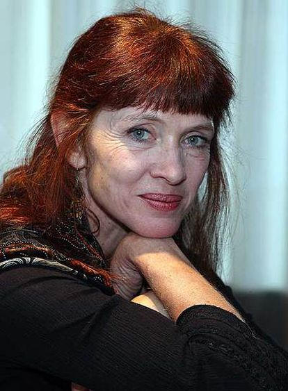 Nancy Huston, la semana pasada en Barcelona.